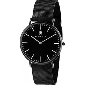 Montre Black Oak BX70008B-001 - Montre Acier Noir Homme