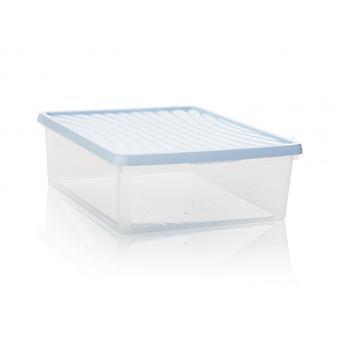 Wham Storage 23.5 Litre Wham A3 Paper Plastic Storage Box With Lid - Deep