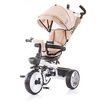 Chipolino Tricycle Tempo tricycle 4in1 siège rotatable, hauteur de tige de poussée réglable