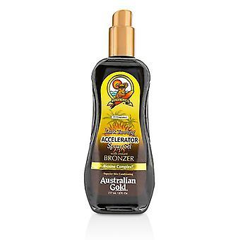 Australian kulta tumma rusketus kiihdytin spray geeli pronssit - 237ml / 8oz