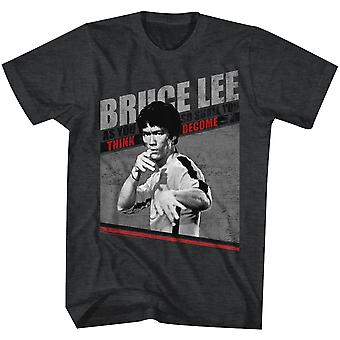 American Classics Bruce Lee Game Of Death T-Shirt - Black Heather