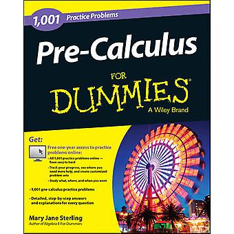 PreCalculus For Dummies by Sterling & Mary Jane