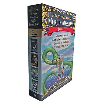 Magic Tree House Merlin Missions Books 14 Boxed Set by Mary Pope Osborne