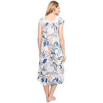 1371 Ladies Womens White Embroidered Chemise Nightdress /'Portia/' Nora Rose