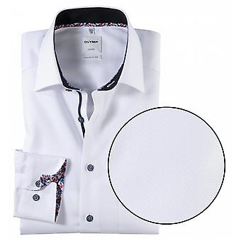 OLYMP Olymp Honeycombe Pattern Formal Shirt