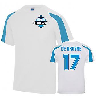 Kevin De Bruyne Man City Sports Training Jersey (Wit)