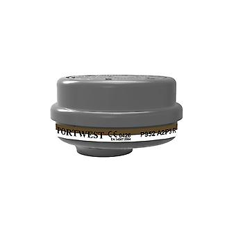 Portwest a2p3 combination filter bayonet connection p952 box of 4