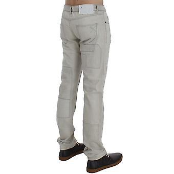 Exte White Wash Cotton Regular Fit Jeans