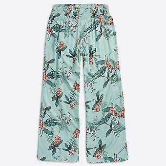 Animal clothing women's kimchie woven trousers blue haze