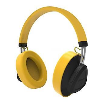 Bluedio TM Wireless Headset Bluetooth Wireless Stereo Headphones Gaming Yellow