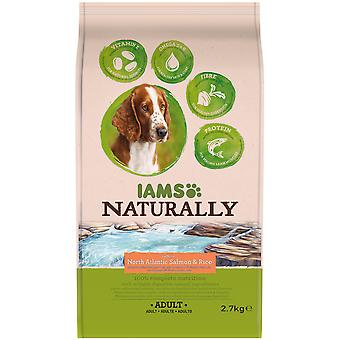 IAMS Naturally Adult Dog rich in North Altantic Salmon & Rice