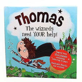 Geschichte & Heraldik Magischer Name Storybook - Thomas