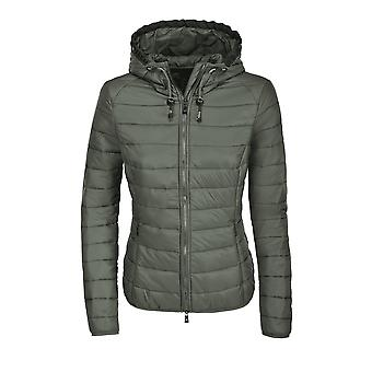 Pikeur Jean Womens Quilted Jacket - Laurel Green