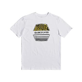 Quiksilver Drift Away Short Sleeve T-Shirt en blanc