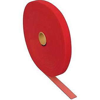 FASTECH® T0601513391125 Haak-en-lus tape voor bundeling Haak en lus pad (L x W) 25000 mm x 15 mm Rood 25 m
