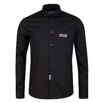 Versace Jeans Couture Cotton Black Shirt