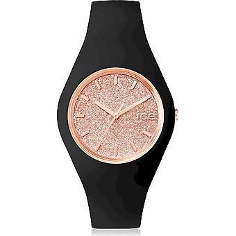 Ice Watch Watch Unisex ICE glitter Black Rose-Gold Medium 001353