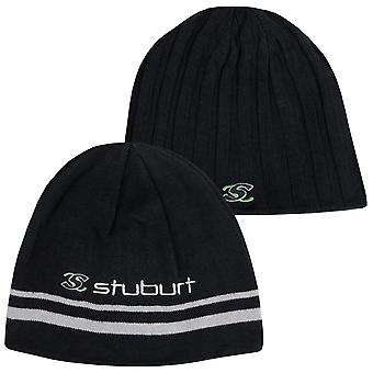Stuburt Unisex Reversível 2 em 1 chapéu de gorro bordado térmico