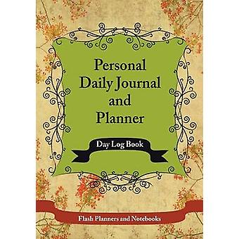 Personal Daily Journal and Planner  Day Log Book by Flash Planners and Notebooks