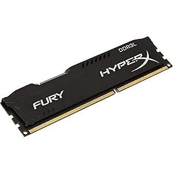 HyperX HX316LC10FB/8 Fury 8 GB, 1600 MHz, DDR3L, CL10, UDIMM, 1.35 V, Black
