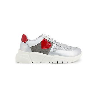 Love Moschino - Shoes - Sneakers - JA15453G1AIQ_502A - Ladies - silver,white - EU 35