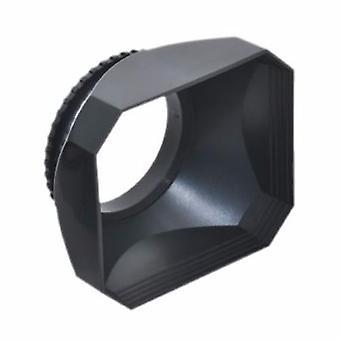 JJC Camcorder 58mm Gegenlichtblende, Objektivdeckel und Cap Keeper