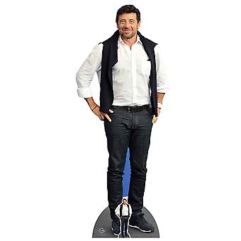Patrick Bruel French Singer Casual Style Lifesize Cardboard Cutout / Standee