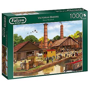 Falcon de Luxe puzzle-viktoriánskej pekári, 1000 ks