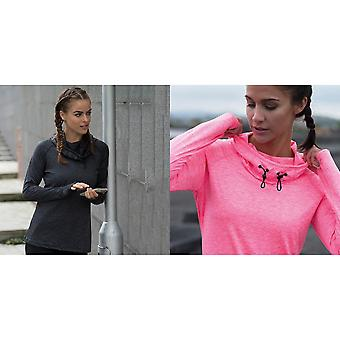 AWDis Just Cool Bayanlar / Bayanlar Girlie Cowl Boyun Baselayer Top