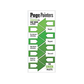 Page Pointers Page Markers Green