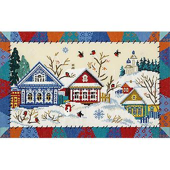 Panna Cross Stitch Kit - Bullfinch Village