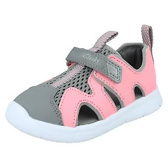 Childrens Clarks Casual Summer Sandals Ath Surf T