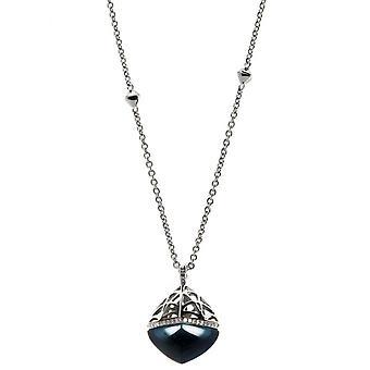 Ti Sento necklace 3811TP-42 - Women's Blue Fashion Silver Necklace