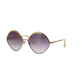 Chloe Dani CE168S 887 Peach Gold/Purple Gradient Sunglasses