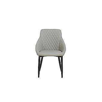 Grau Metall Farbe Auriga Stuhl, Stoff 55x55x86 cm