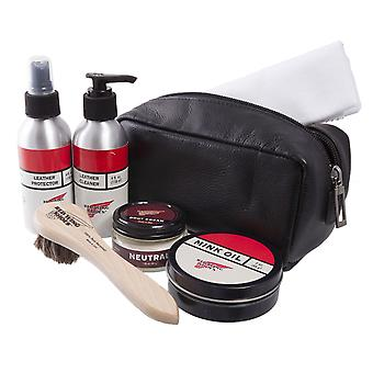 Red Wing Luxusschuh und Boot Care Kit-Brown