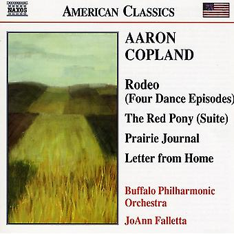 A. Copland - Copland: Rodeo; the Red Pony; Prairie Journal; Letter From Home [CD] USA import