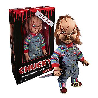 "Child-apos;s Play Chucky 15"" Talking Action Figure"