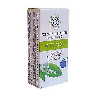 Extrait de plantes fraîches Détox BIO 130 granulés