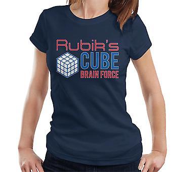 Rubik's Cube Brain Force Women's T-Shirt