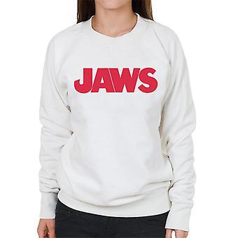 Jaws Text Logo Women's Sweatshirt