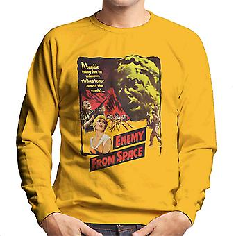 Hammer Horror Films Quatermass 2 Enemy From Space Men's Sweatshirt