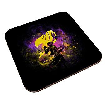 Fairy Hale Natsu Dragneel Silhouette Coaster
