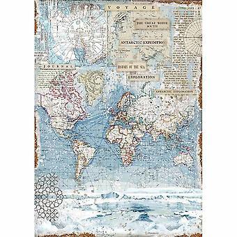 Stamperia Ryż Papier A3 Antartic Exploration
