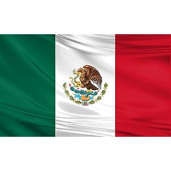 Multipack 3 x Mexico Large Flag 5ft x 3ft