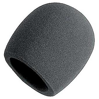 Színpadon Hab Ball-típusú Mic Anti Saliva szélvédő mikrofonok (szürke)