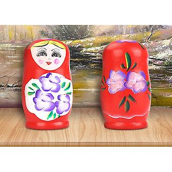 Russian Matryoshka Dolls Basswood Creative Nesting, Russian Traditional Feature