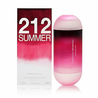 Carolina Herrera 212 Sommer Eau de Toilette Spray 2013 Edition