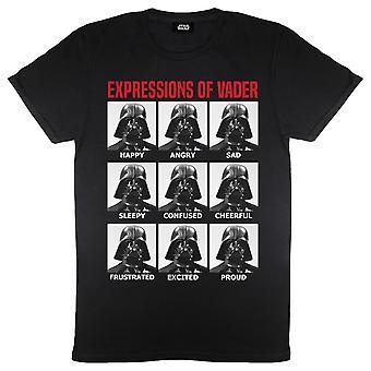 حرب النجوم تعبيرات من Vader الرجال & apos;ق تي شيرت | البضائع الرسمية