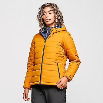 New Peter Storm Women's Blisco Hooded Jacket Yellow